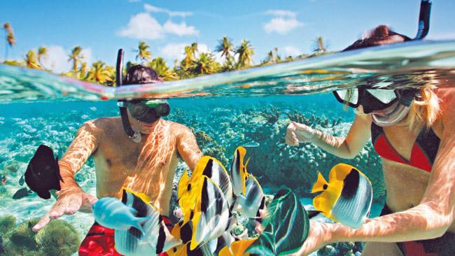 海に行くならシュノーケリング!新しい自分と新しい世界を見つける旅