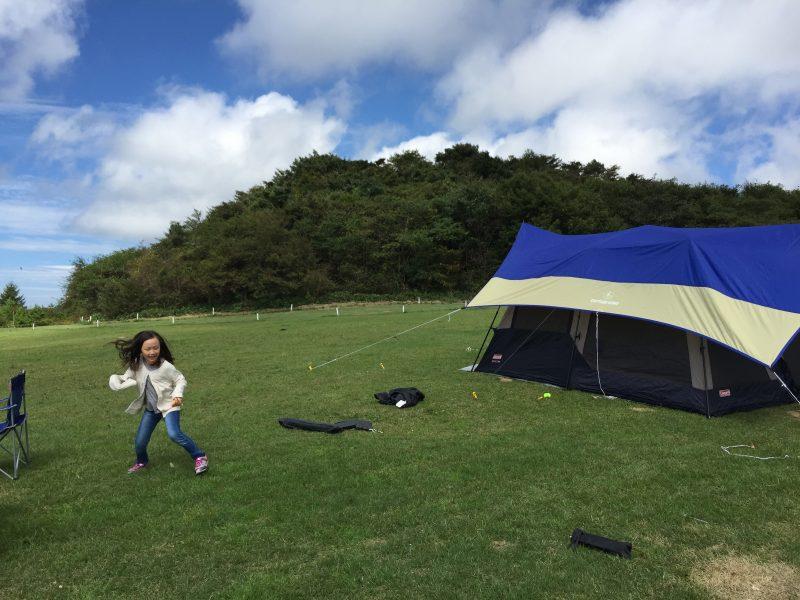9/12@内山キャンプ場