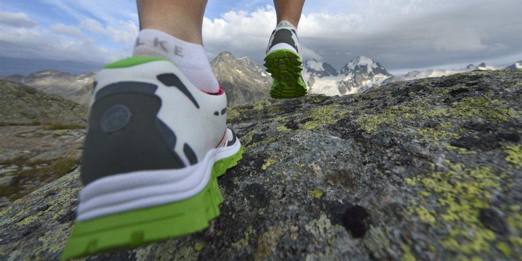 Trailrunning, Fuorcla Surlej, Corvatsch, Engadin, Graubünden, Schweiz