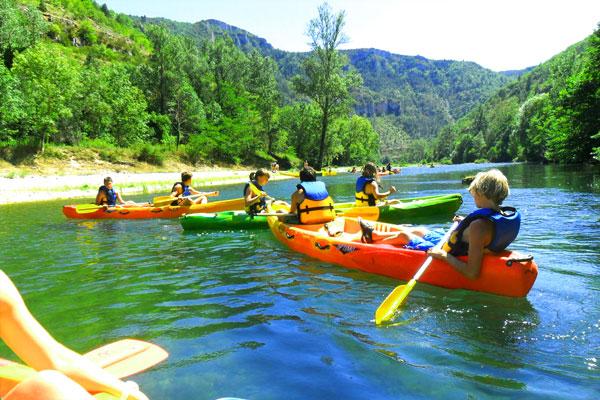 canoe-gorgesdutarn
